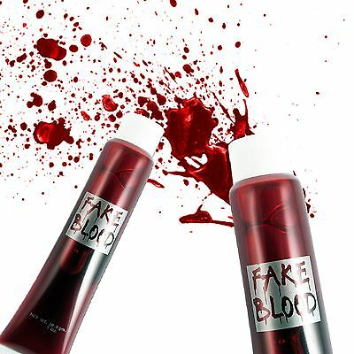Special Fx Tube Make Up Fake Blood Halloween Gore Fancy Dress Costume Accessory