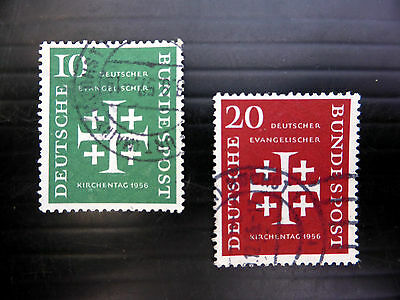 GERMANY West 1956 SG1161/2 Fine/Used NEW LOWER PRICE FP4124