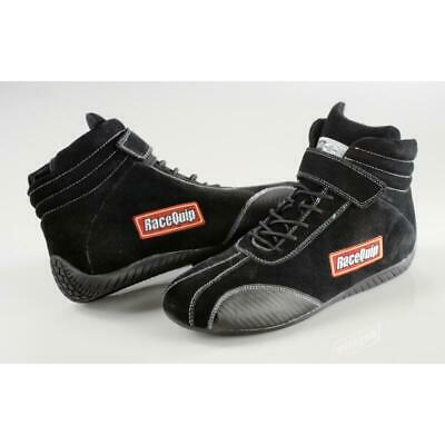 Racequip Racing Shoes 30500095; Euro Ankletop Ankle-Top Black 9.5