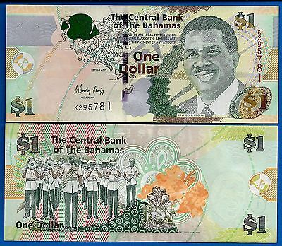 Bahamas P-71 One Dollar Year 2008 Uncirculated Banknote