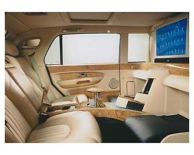2003 Bentley Arnage Limousine Interior Automobile Photo Poster zch8577