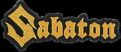 Sabaton - Logo - Cut Out  Patch/aufnäher Neuf