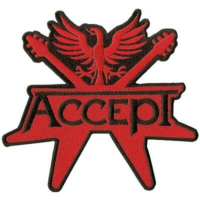 Accept - Logo - Cut Out  Patch/aufnäher Neuf