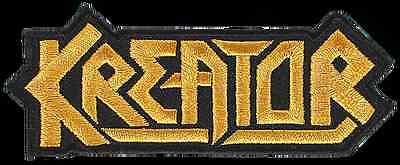 Kreator - Logo - Cut Out  Patch/aufnäher Neuf