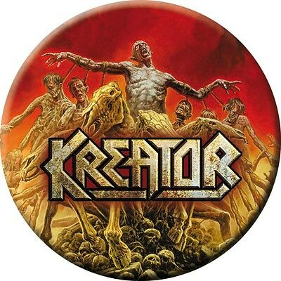 Kreator - Phantom Antichrist  Button Neuf