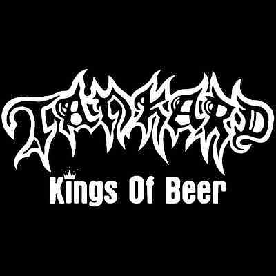 Tankard - Kings Of Beer Carsticker Geplottet  Sticker Neuf