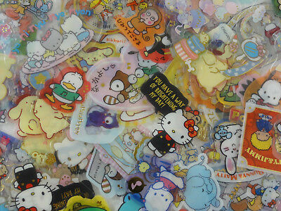 SALE grab bag 60 Sanrio Hello Kitty My Melody flake sack sticker cute stationery
