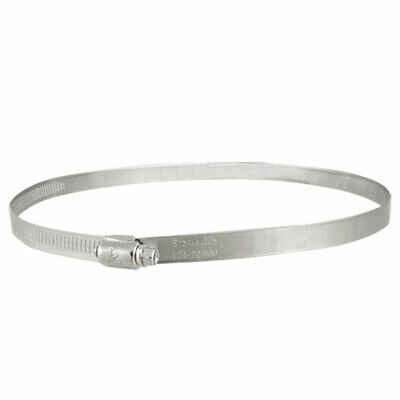 179-203mm Stainless Steel Band Hose Clamp Fastener New