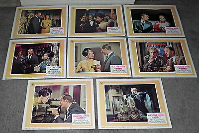 GAMBIT orig lobby card set MICHAEL CAINE/SHIRLEY MACLAINE 11x14 movie posters