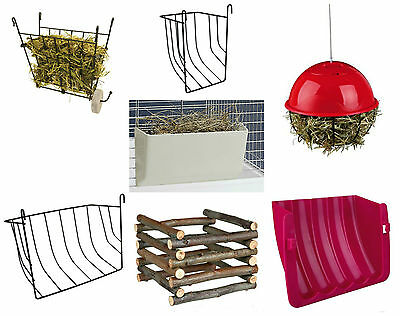 Trixie Guinea Pig Rabbit Hay Rack Manger Ball Choice Of Design