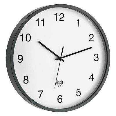 Radio-Controlled Wall Clock Chimsee TFA 60.3511.10 Office wartezimmeruhr Large