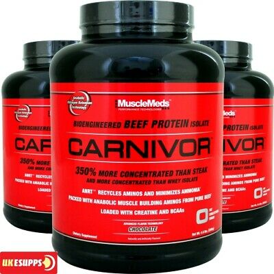 MuscleMeds Carnivor 1.8kg / Muscle Meds Beef Whey Protein 1800g Spacial Offer