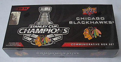 Upper Deck Nhl 2013 Stanley Cup Champions Chicago Blackhawks Box Set New Sealed