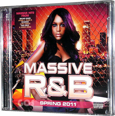 R&B Music Hits on 2 CDs from 2011 Rihanna Bruno Mars Jessie J - New Unsealed