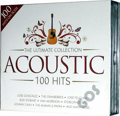 The Ultimate Acoustic Songs 5 CD of Classic Tracks Original Music Recordings