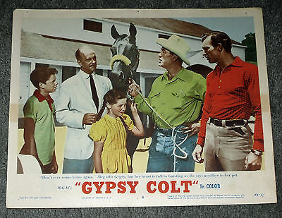 GYPSY COLT original 1954 lobby card movie poster DONNA CORCORAN/LEE VAN CLEEF