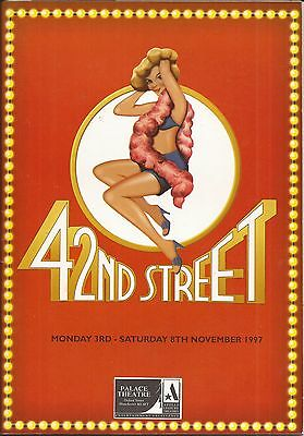 42nd Street Royal Exchange Theatre Programme 1997