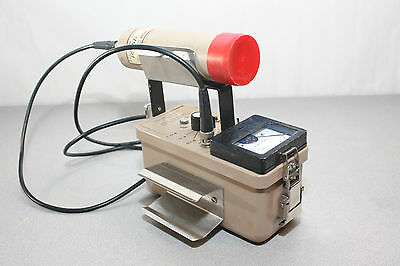 Ludlum Model 3 Survey Meter with 44-21 Probe Geiger Counter GM Detector