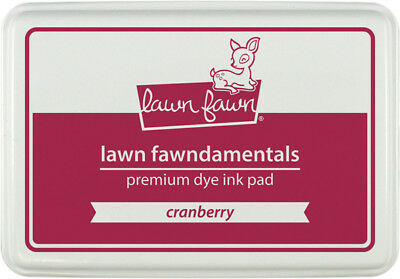 Lawn Fawn - Lawn Fawndamentals - Cranberry Ink Pad