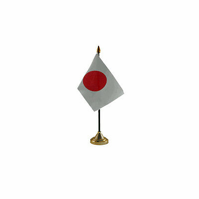 Japan Table Desk Flag - 10 x 15 cm National Country Hand Asia