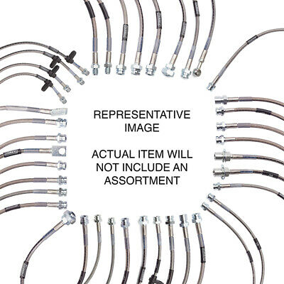 Russell 695700 Brake Line Kit GM Pickups and Suburban with 4-6 inch lift