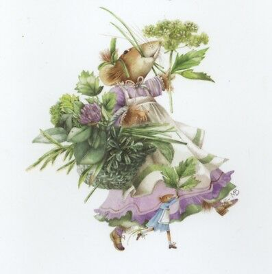 """vera The Mouse"" Celebrate Granddaughter Birthday,marjolein Bastin Greeting Card"