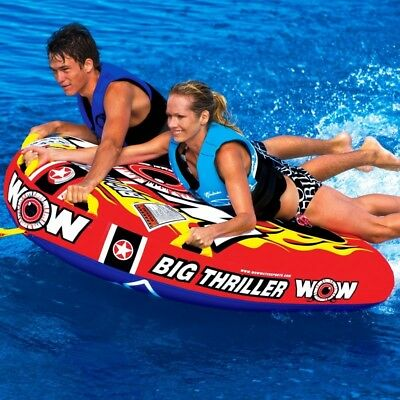 Wow Watersports Big Thriller Inflatable Towable Ski Tube (11-1070)