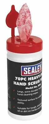 Sealey Hand Wipes Heavy-Duty Pack of 70 SSW