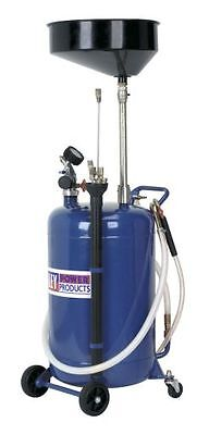 Sealey Mobile Oil Drainer with Probes 90ltr Air Discharge AK459DX