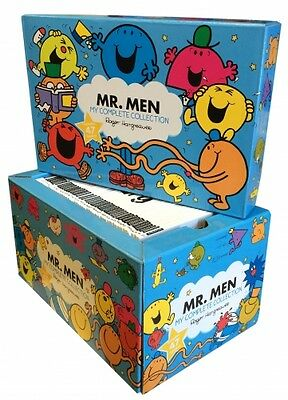 Mr Men Books Box Gift Set My Complete Collection Roger Hargreaves
