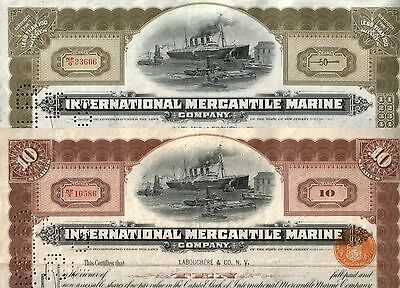 TITANIC STOCKS w/o HOLES in SHIP or w/o ANY HOLES AT ALL from $37.50! READ DESC!