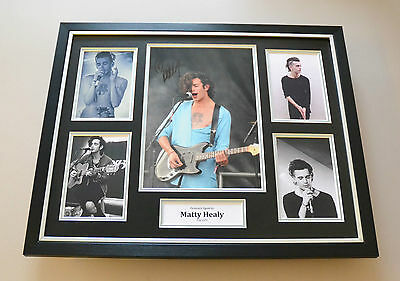 Matty Healy Signed Photo Large Framed Genuine The 1975 Autograph Display + COA