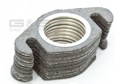 5X EXHAUST GASKET EXHAUST MANIFOLD GASKET 50ccm SCOOTER Keeway Kymco