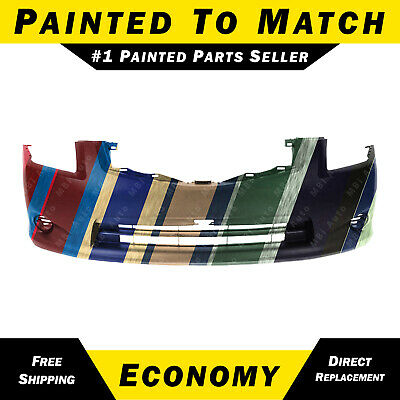 NEW Painted To Match - Front Bumper Fascia Cover for 2010-2012 Nissan Sentra S