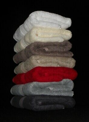 Ramesses 30% Bamboo & 70% Egyptian Cotton Bath Towel 600Gsm - 6 Pack (Bcb36)