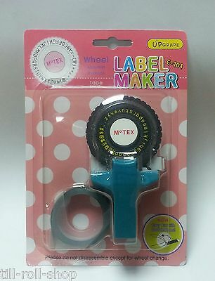 Motex Embossing Tape Gun *STARTER PACK* Various Colours, Designs and Quantities
