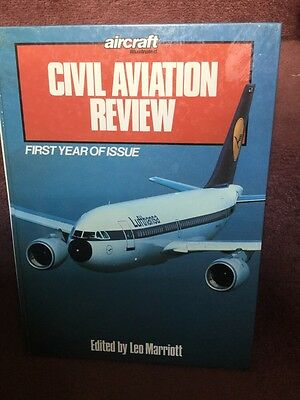 Aviation Book - Aircraft Illustrated Civil Aviation Review Leo Marriott