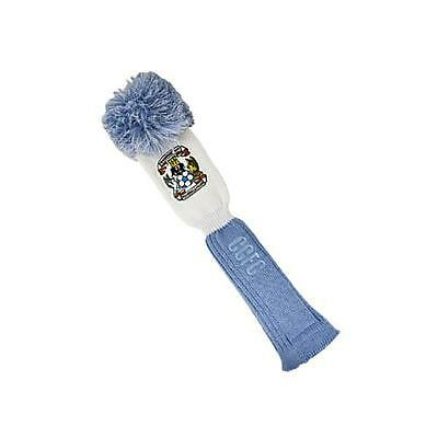 Coventry City Fc Golf Club Headcover Pompom (Driver) Blue & White Football Wool
