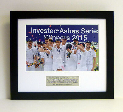 Ashes 2015 – Special edition Team Celebration Presentation