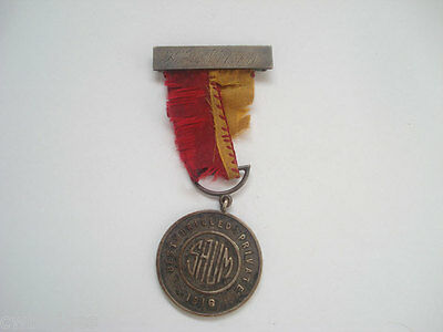 Id'ed Sterling Medal ~ Best Drilled Private Nelson