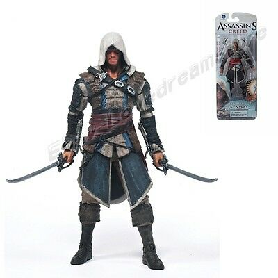 """McFARLANE Assassin's Creed Edward Kenway 15cm/6"""" PVC Action Figure New In Box"""