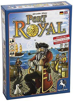 PEGASUS SPIELE GMBH Port Royal Board Game PicClick UK - Minecraft novus spielen