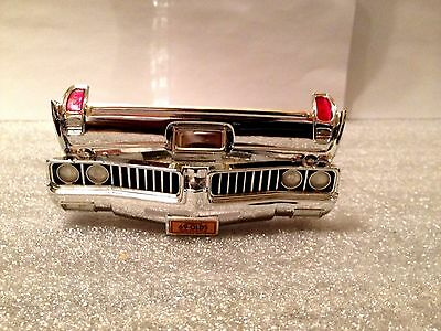 1969 Olds  Cutlass Ertl Chrome & Rear Bumper Assembly 1/18  Diorama