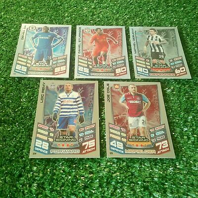 Complete Your Match Attax Extra 12/13 Collection Choose Full Set All 2012 2013