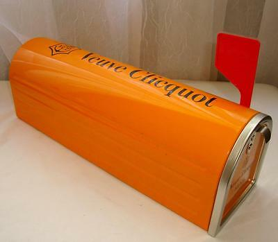 Cool Champagne Veuve Clicquot Ponsardin Collector Mailbox! US Only, Rare