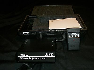 Amx Corp Mx 40A  Mx40A Slide Projector Controller With Remote And Hard Case Ec