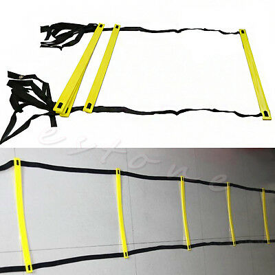 Useful 5-Rung Agility Ladder For Soccer Speed Football Fitness Feet Training