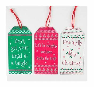 Sass & Belle Festive Nordic Gift Tag Christmas Tree Decoration Xmas Ornament