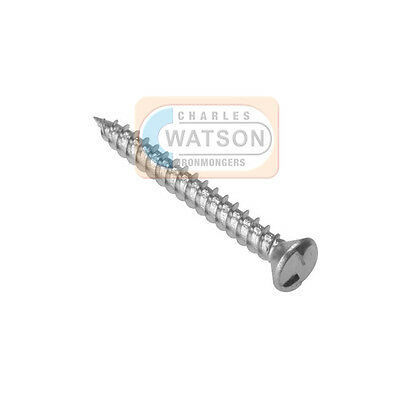 """No.12 1.5/"""" 38mm In But Not Out 20x One Way Security Screws Tamper Proof"""