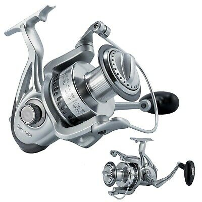 Spinning Reel Saltwater Fishing Heavy Duty 10000 9+1BB Super Big Marlin Catfish